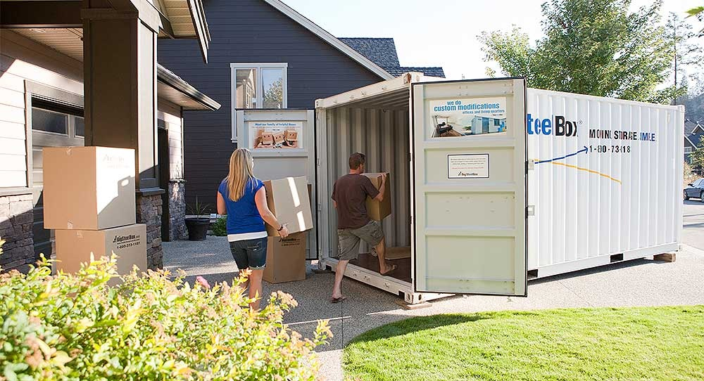 The Benefits of a Portable Storage Unit after Purchasing a New Home