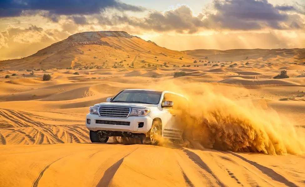 A Typical Dubai Desert Safari Experience