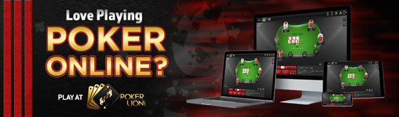 Love Playing Poker Online? Play at Pokerlion.com