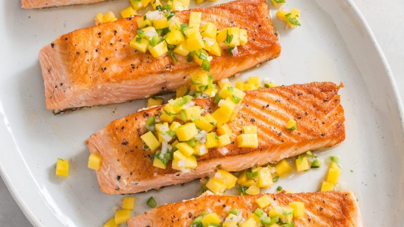 pan-seared salmon recipes