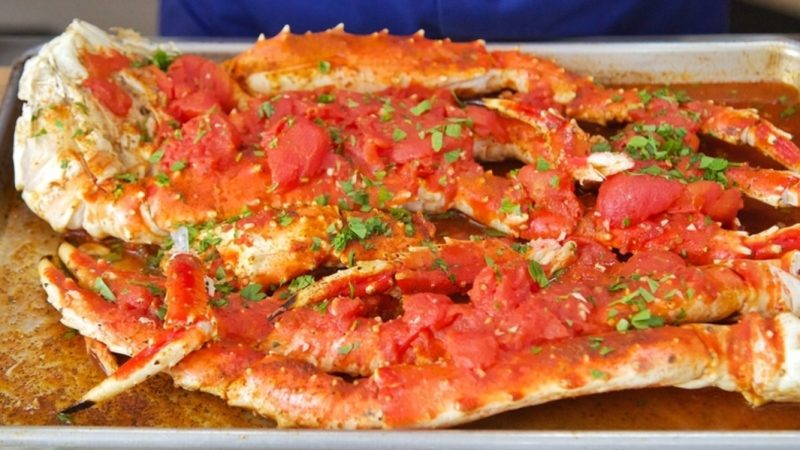 king crab legs available and recipes::