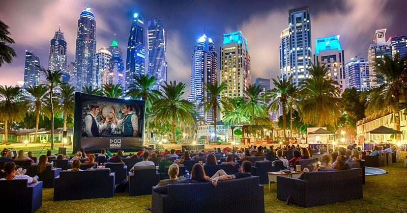 Inputs about outdoor cinema hire