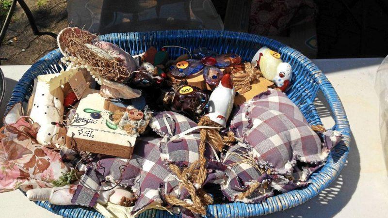 Flea Market Treasures Abound All Around