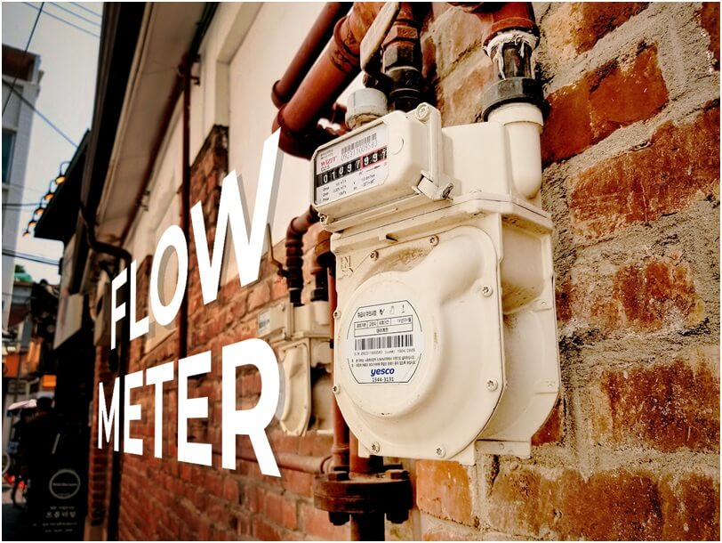 What is a flow sensor and how does it work in a hot water pump?