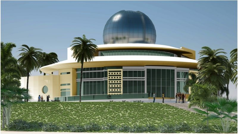 Joy Is Travelling To Al Thuraya Astronomy Center