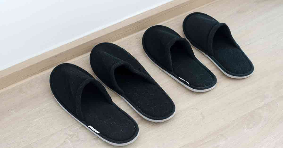 Benefits of Wearing Slippers at Home