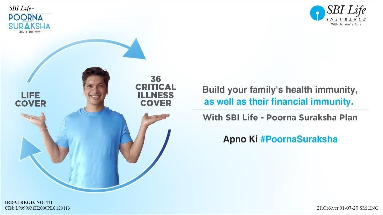 """SBI Poorna Suraksha Plan: Boosting your financial immunity"" – Shaan"