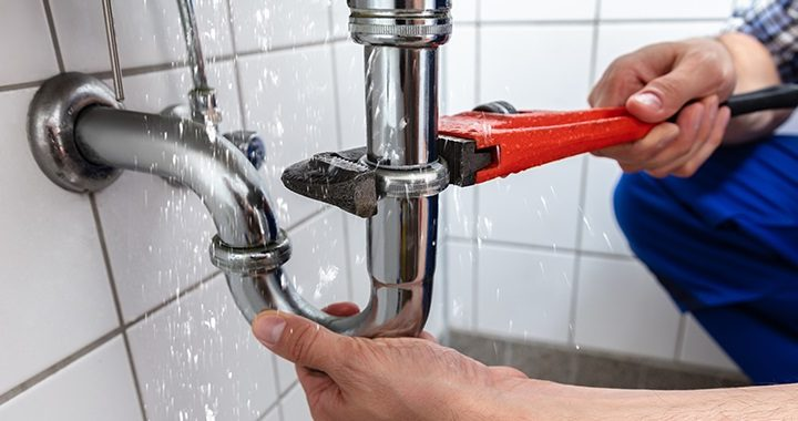 Call a plumbing professional for drain pipe repair