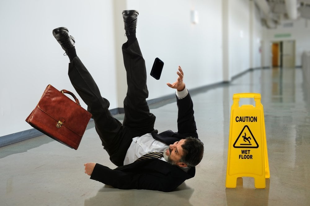How common are slip and fall accidents?