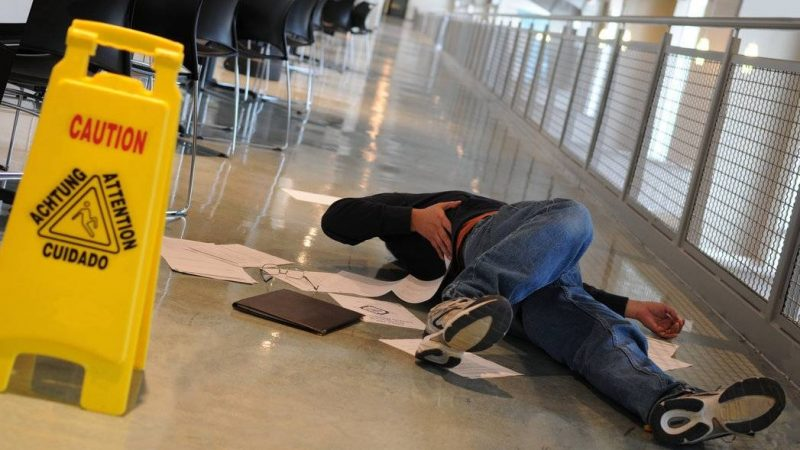 What Are My Legal Options for a Slip and Fall Accident if There's a Wet Floor Sign Nearby?
