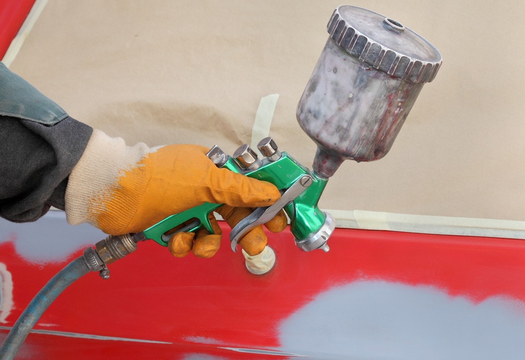 Dry Ice Blasting for Paint Preparation