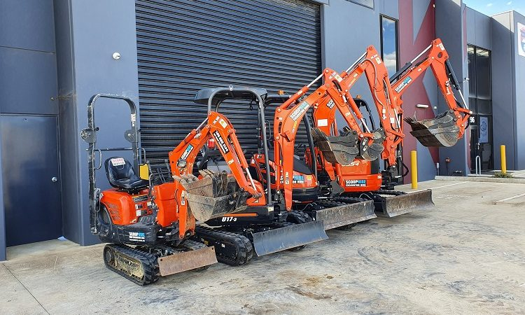 The types of DIY projects where a mini excavator hire can save days or weeks of labor