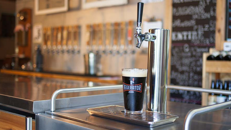 Factors to consider when buying a kegerator.