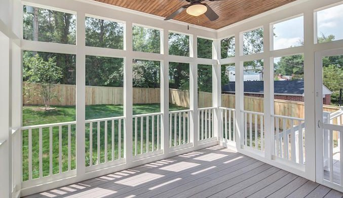 How much does it cost to enclose a porch?