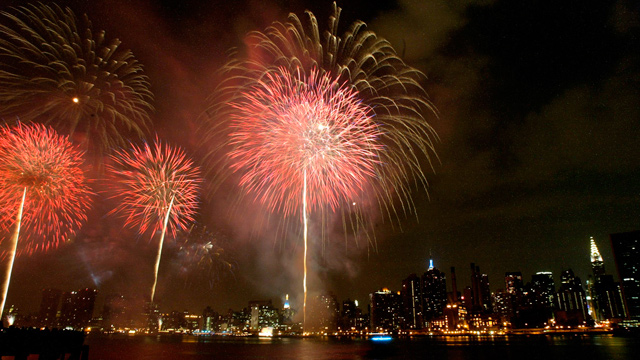 How much does a big firework cost?
