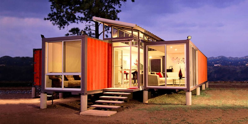 Real Benefits of Shipping Container Houses