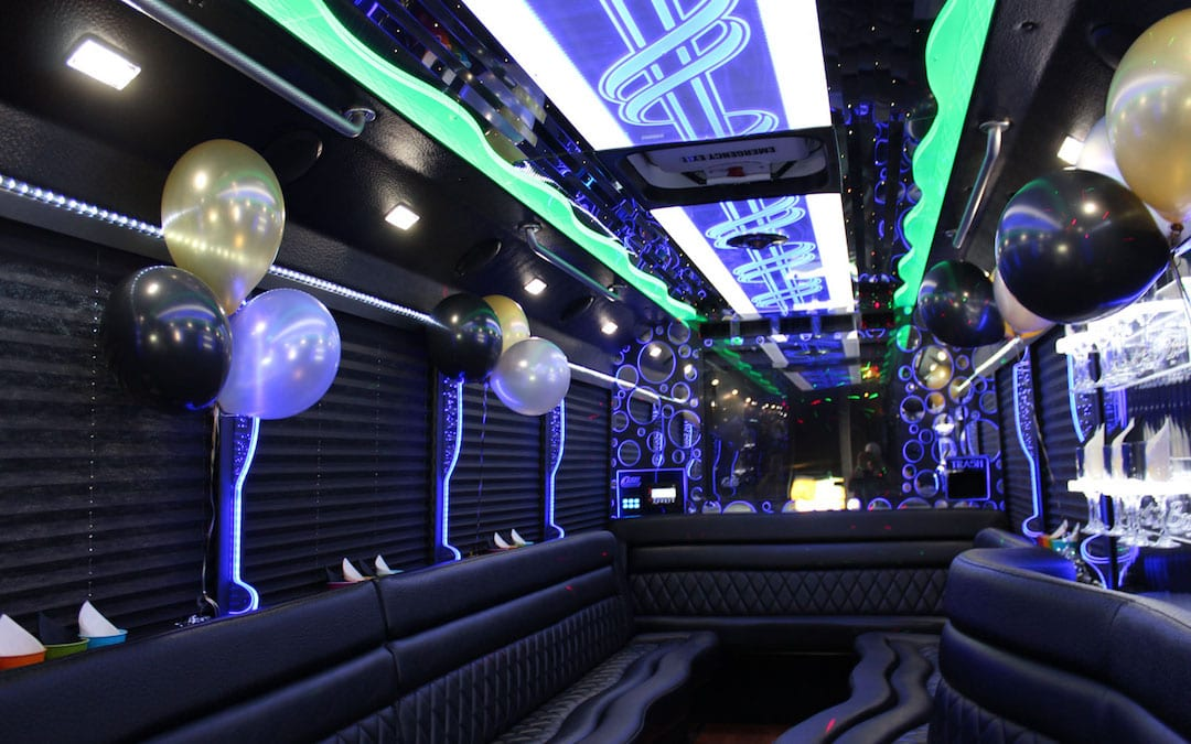 Hire a Party Bus for Birthday Celebration