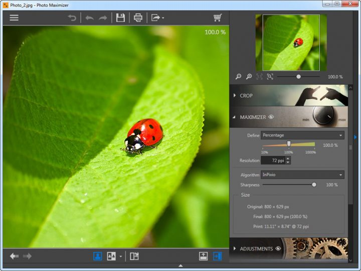 Image Enhancement Solutions: An easy way to increase the resolution of your images