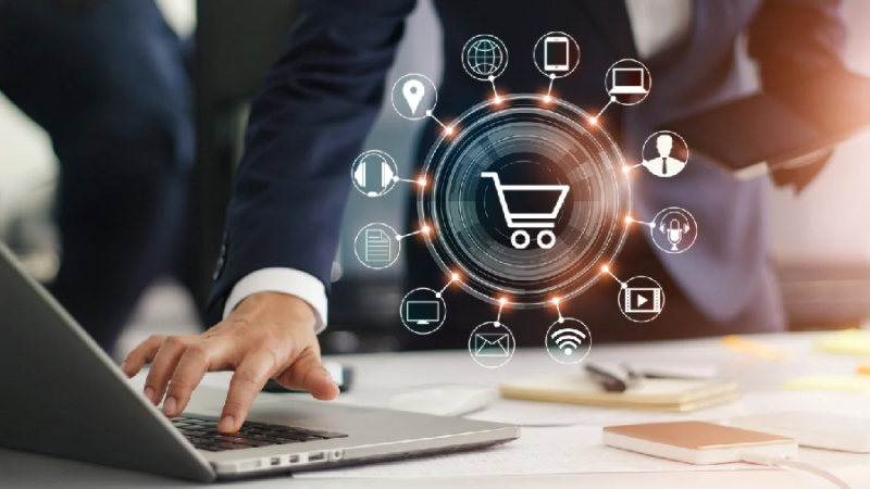 How can intelligent search in retail websites create a more efficient sales process?