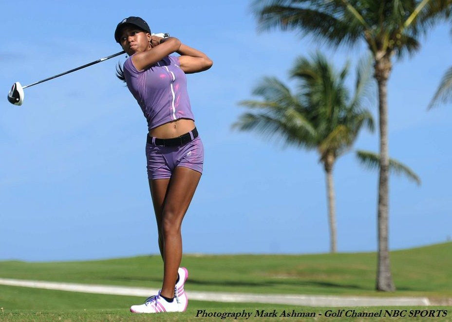 On the golf course, Zakiya Randall 'Z' does a variety of things – It's quite remarkable