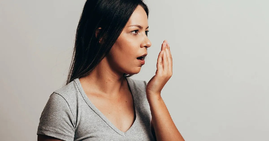 Steps that you can do to stop bad breath: